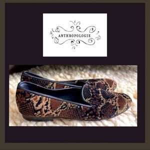 Anthropologie Zalo Embroidered Loafers Size 8